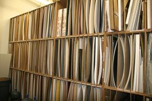 Matboard Storage