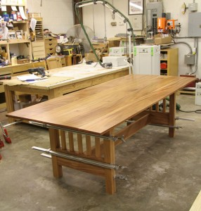 Natural Mahogany Table